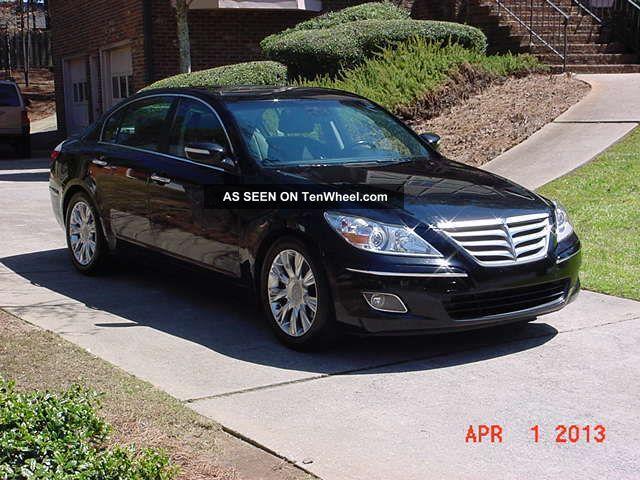 2009 Hyundai Genesis 3.  8 Sedan 4 - Door 3.  8l Genesis photo
