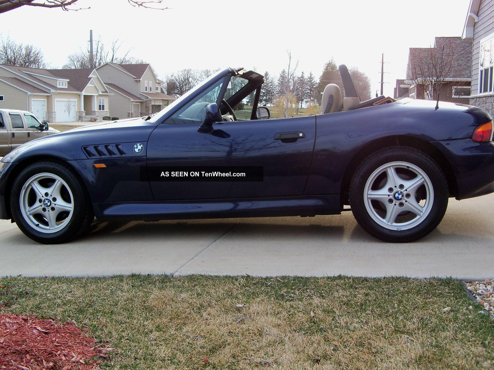 1998 Bmw Z3 Roadster Convertible 2 Door 1 9l