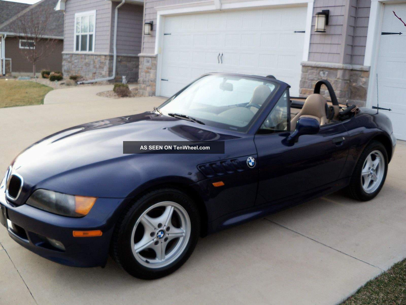 1998 Bmw Z3 Roadster Convertible 2 Door 1 9l