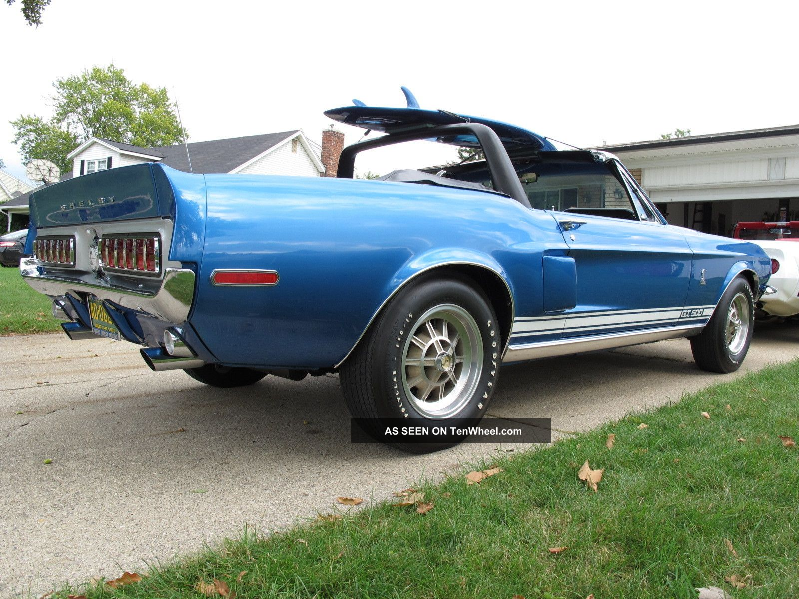 1968 Shelby Gt500 Acapulco Blue Autos Post