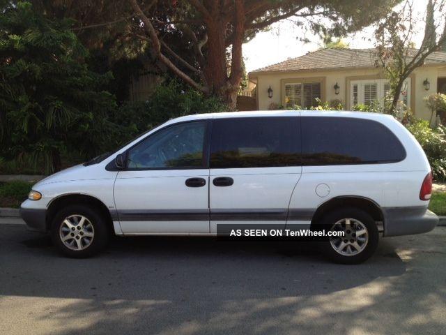 1996 Dodge Grand Caravan Se Mini Passenger Van 4 Door 3 3l