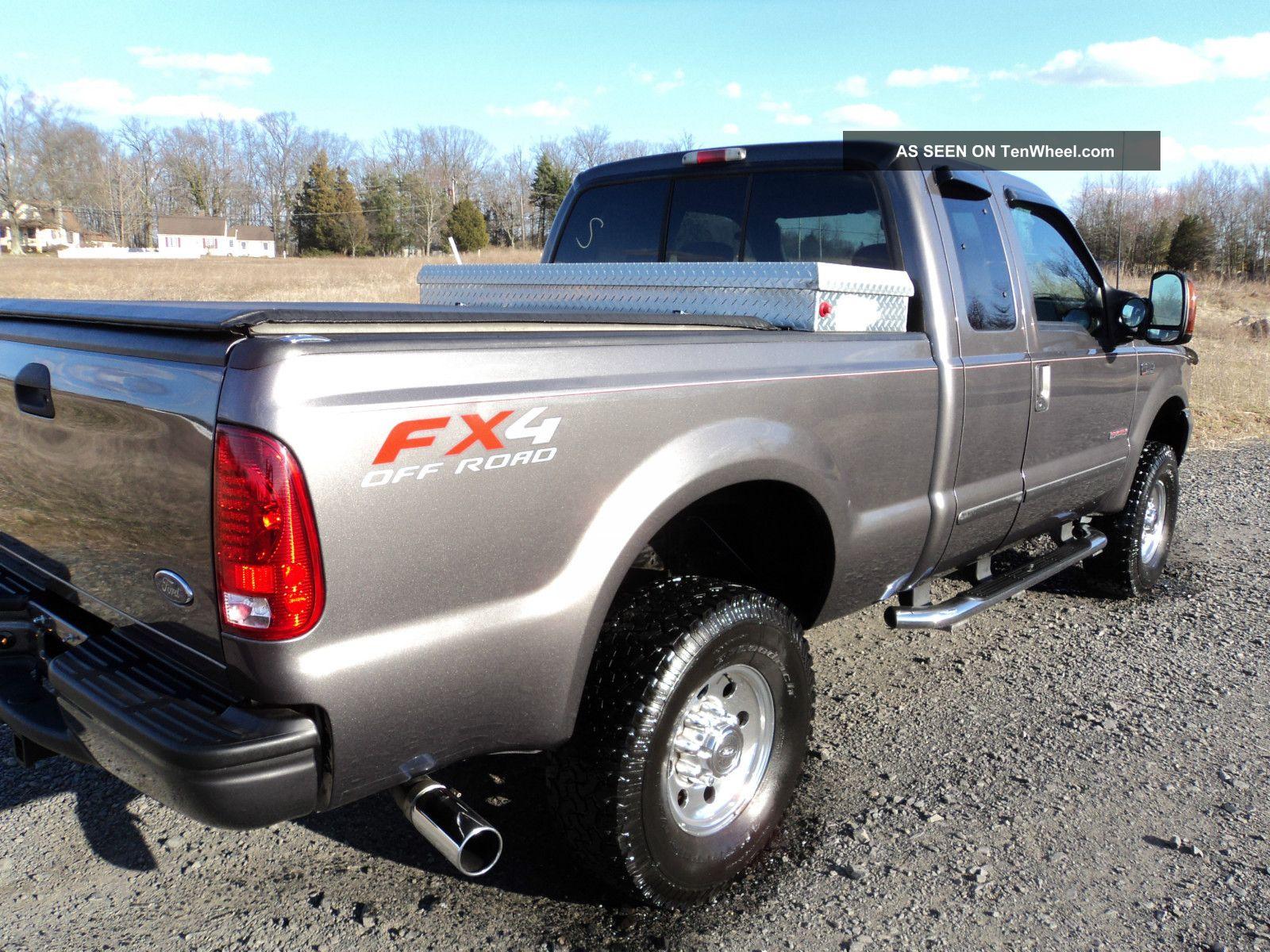 2003 Ford F250 Powerstroke Diesel Fx4 Ext Cab 4x4  16900