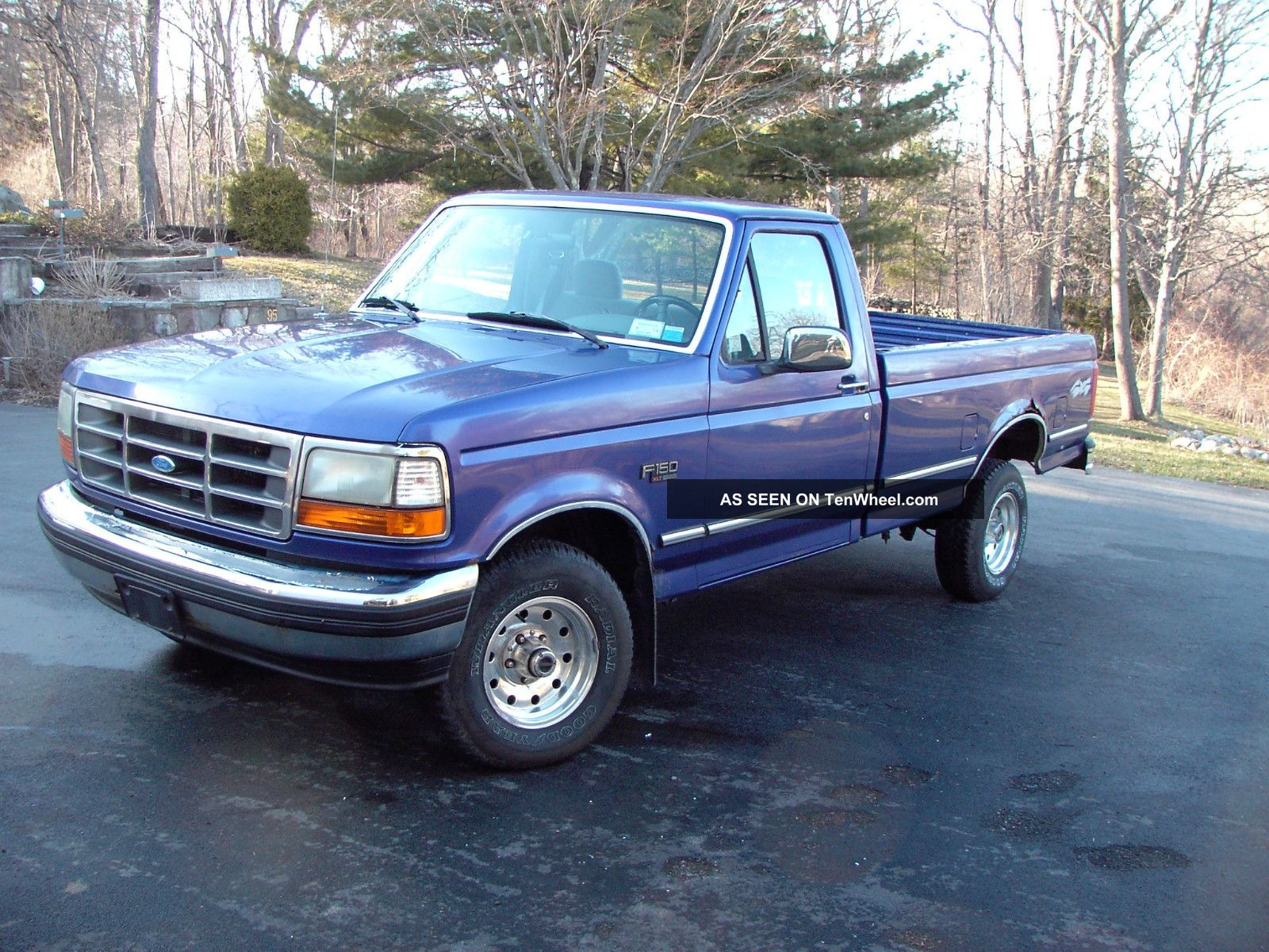 ford f150 lightning 1993 1995 autos post. Black Bedroom Furniture Sets. Home Design Ideas