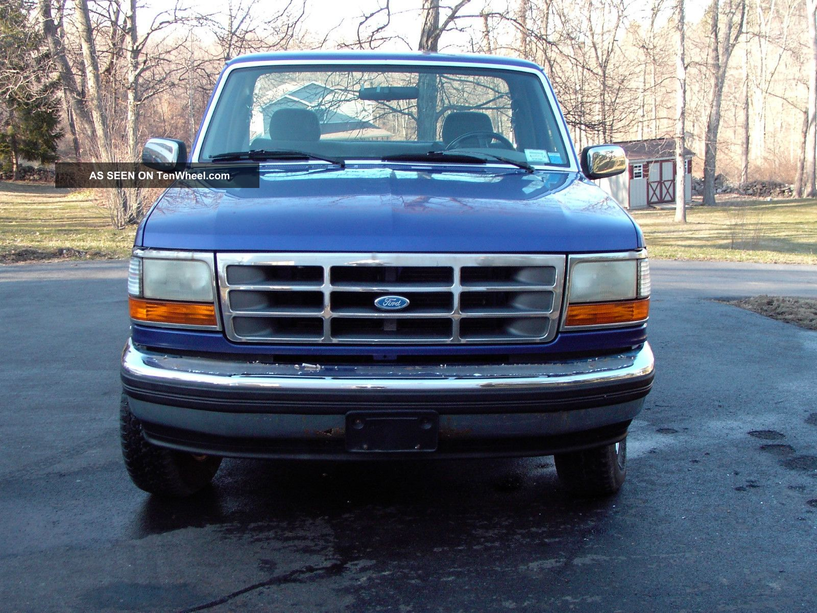 1995 ford f 150 f150 4x4 4wd longbed pickup truck 5 0 automatic. Black Bedroom Furniture Sets. Home Design Ideas