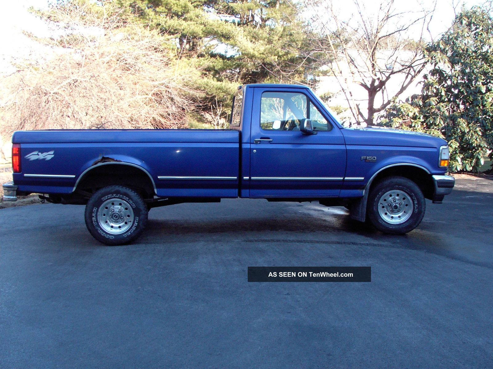 1995 Ford F - 150 F150 4x4 4wd Longbed Pickup Truck 5. 0 Automatic