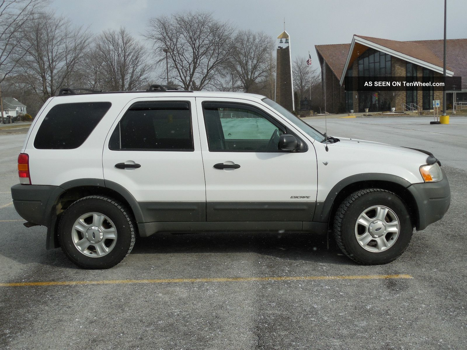 2002 ford escape 4x4 all wheel drive suv 4 door