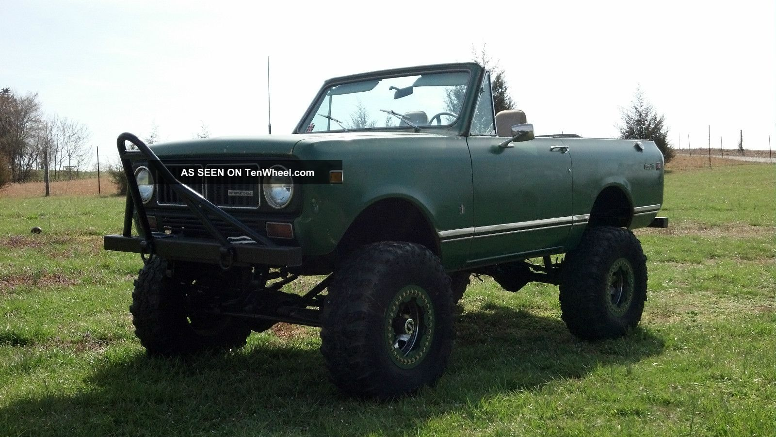 1973 International Scout Ii 4x4 Lifted Convertible Scout photo