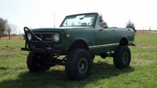 1973 International Scout Ii 4x4 Lifted Convertible photo