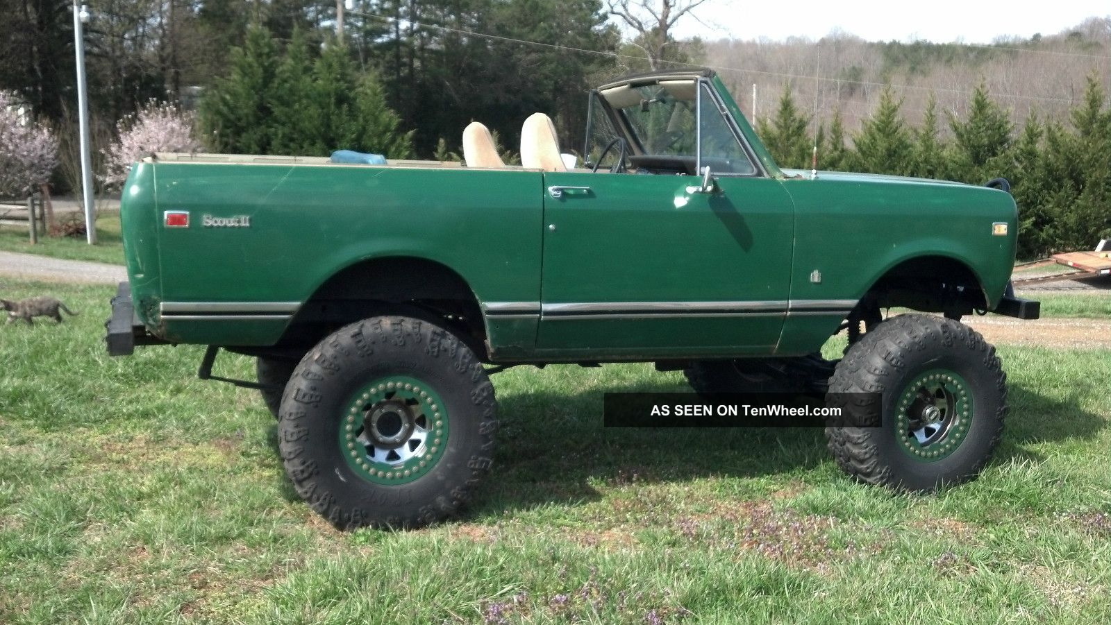 1973 international scout ii 4x4 lifted convertible. Black Bedroom Furniture Sets. Home Design Ideas