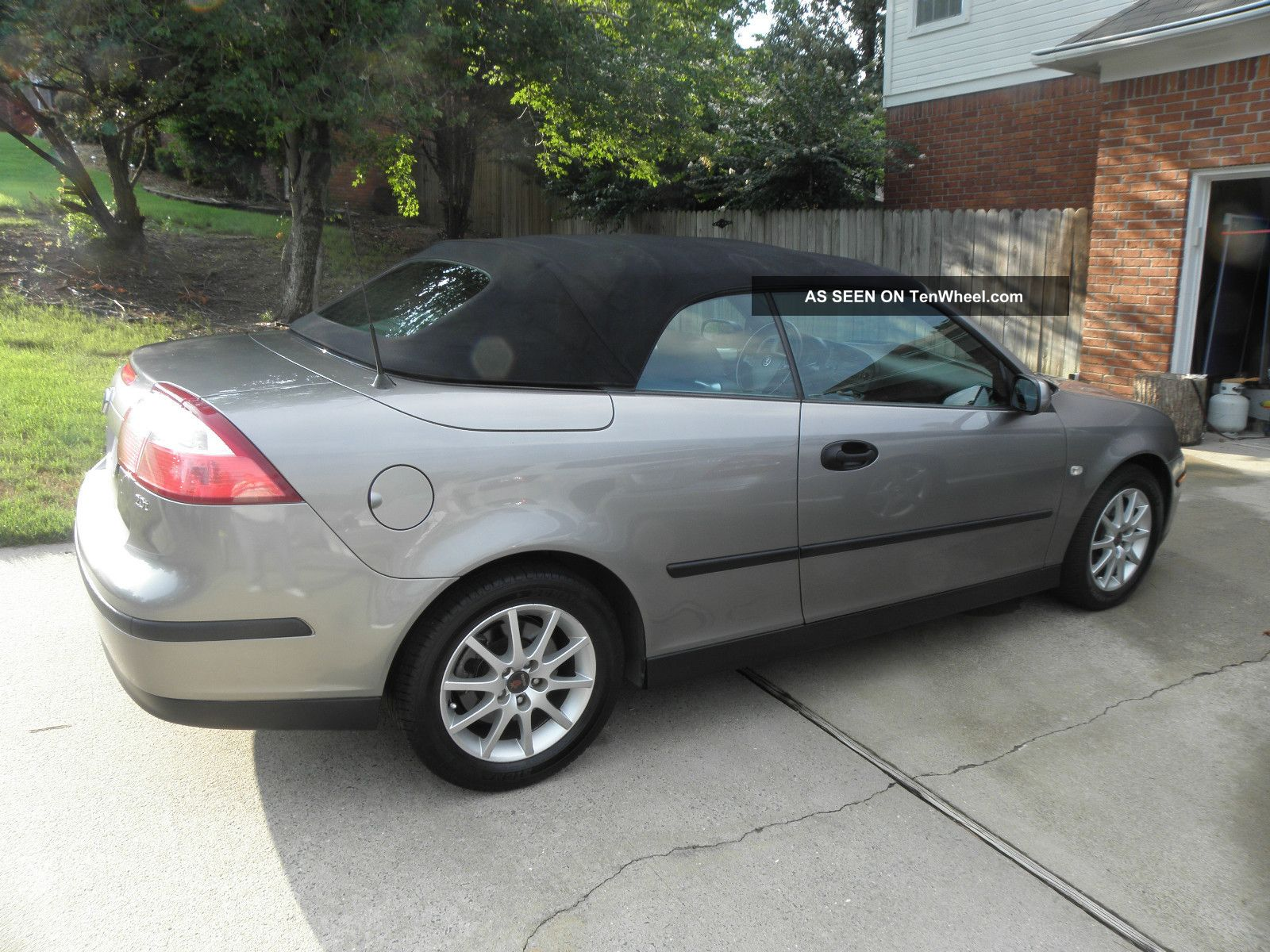 2005 saab 93 turbo convertible 5 speed manual with. Black Bedroom Furniture Sets. Home Design Ideas