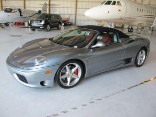 2003 Ferrari 360 Spider Convertible 2 - Door 3.  6l In Grigio Titanio photo