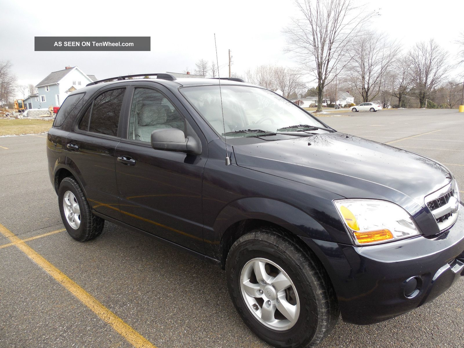 2009 kia sorento lx sport utility suv 4x4 4 door v6 good gas mileage. Black Bedroom Furniture Sets. Home Design Ideas