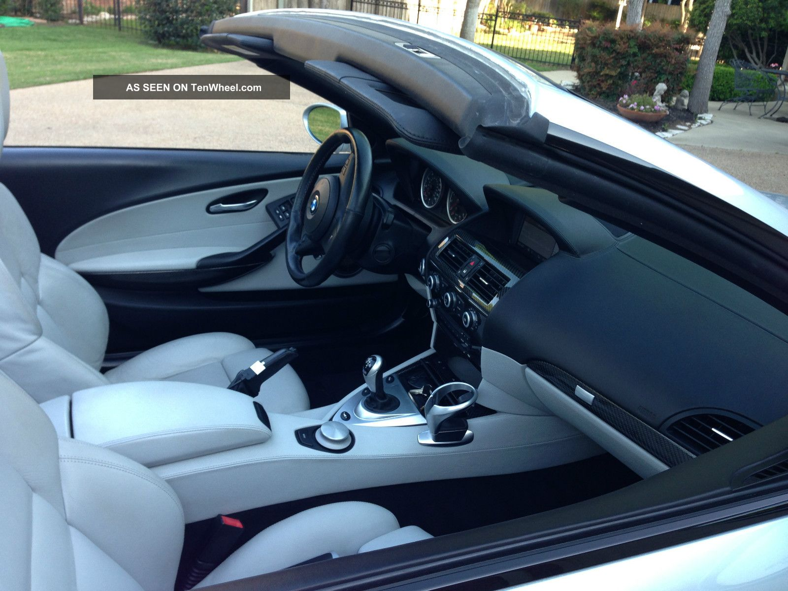 2008 Bmw M6 Convertible - Fully Loaded W / 6yr 100k Wtty,  Maint,  Heads Up,  Keyless M6 photo