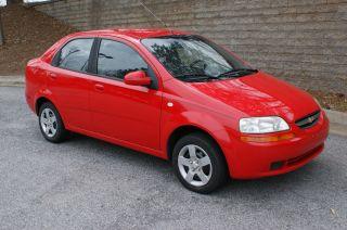 2005 Chevrolet Aveo Ls Sedan 4 - Door 1.  6l photo