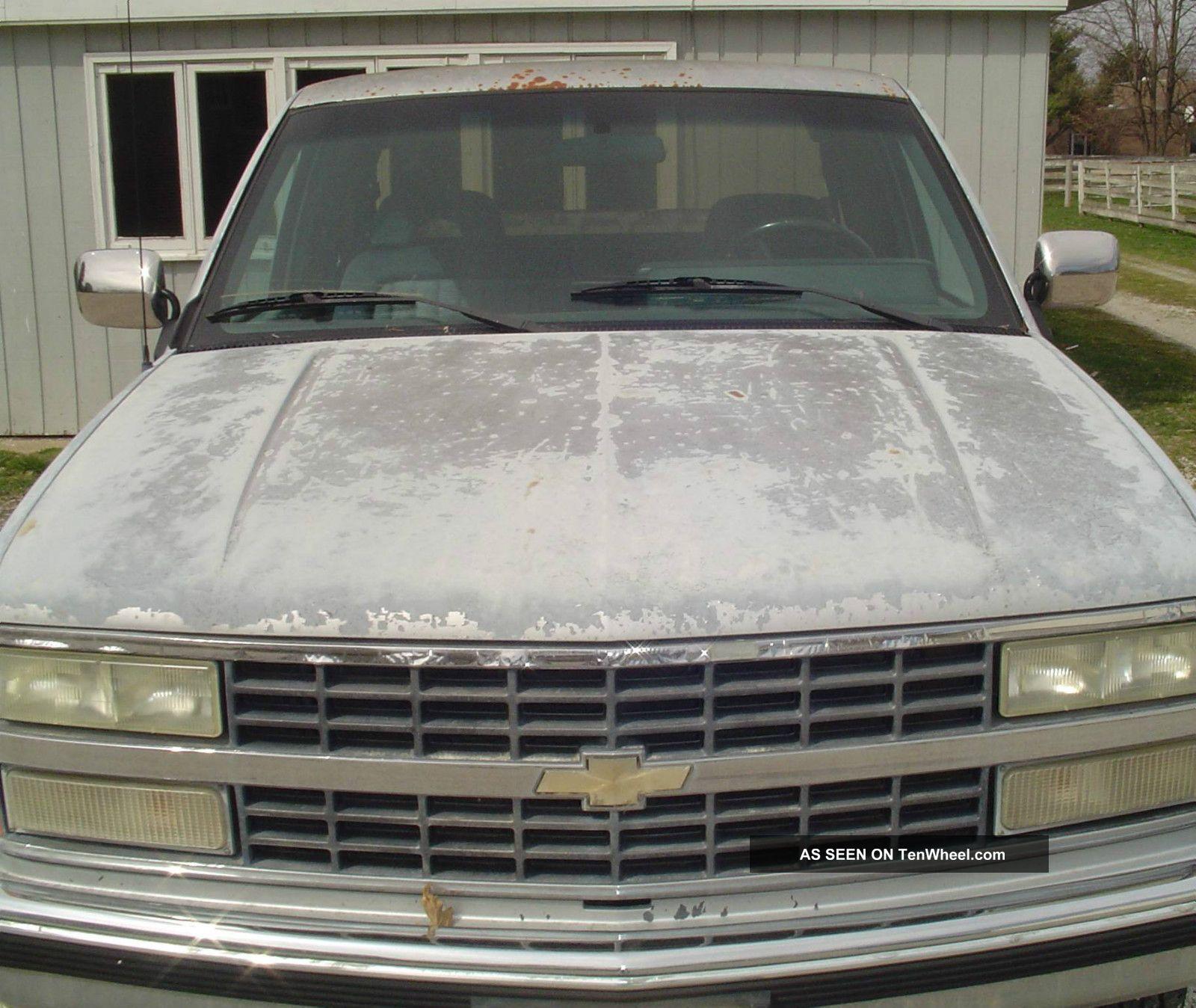 1992 Chevrolet C2500 Silverado Ext. Cab Long Bed