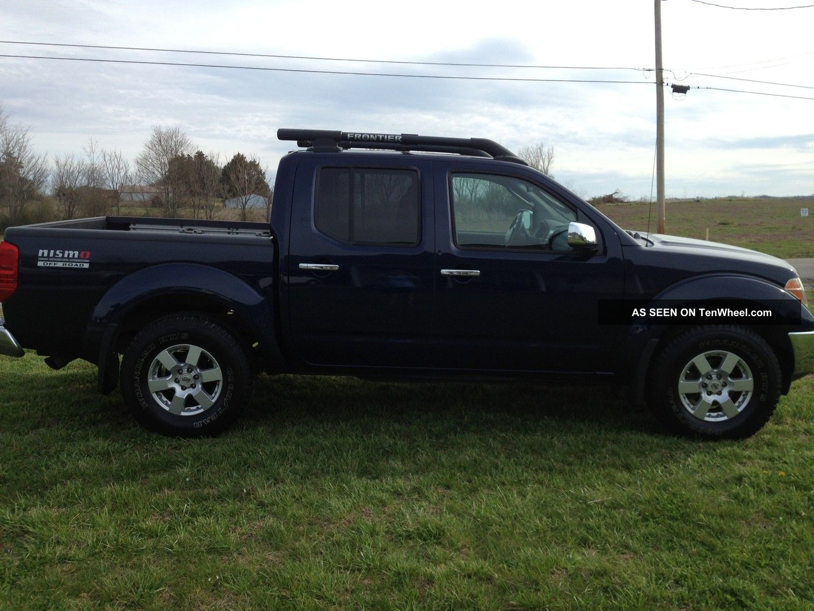 2006 Nissan Frontier Nismo Off - Road Crew Cab Pickup 4 - Door 4. 0l
