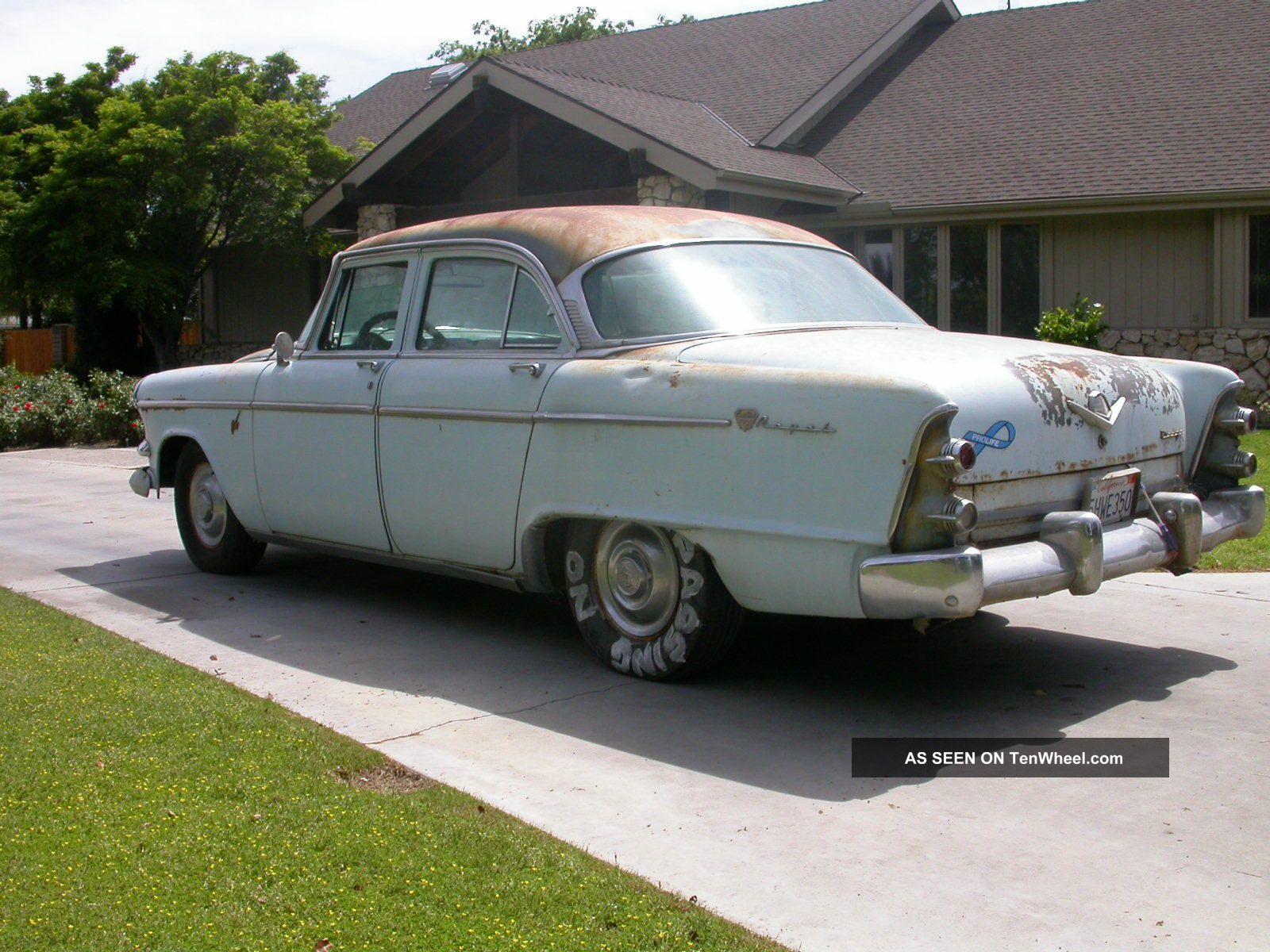 1955 dodge custom royal lancer 4 door sedan 15699 - 1955 Dodge Royal 4 Door For Sale Photos Technical 640x480 1955