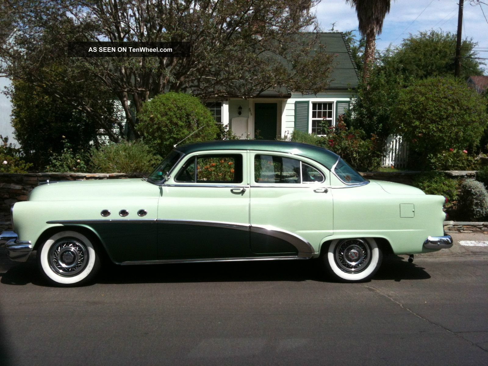 1953 buick special deluxe 4 door sedan for 1953 cadillac 4 door sedan