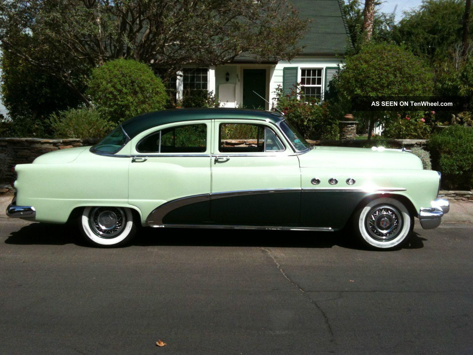 1953 buick special deluxe 4 door sedan