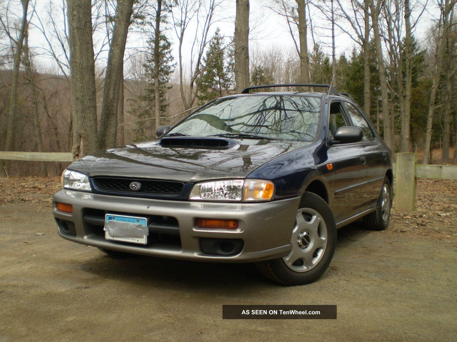 1997 Subaru Impreza Outback Sport 2.  2l Carbon Fiber Hood Autocross Rally Prep Nr Impreza photo