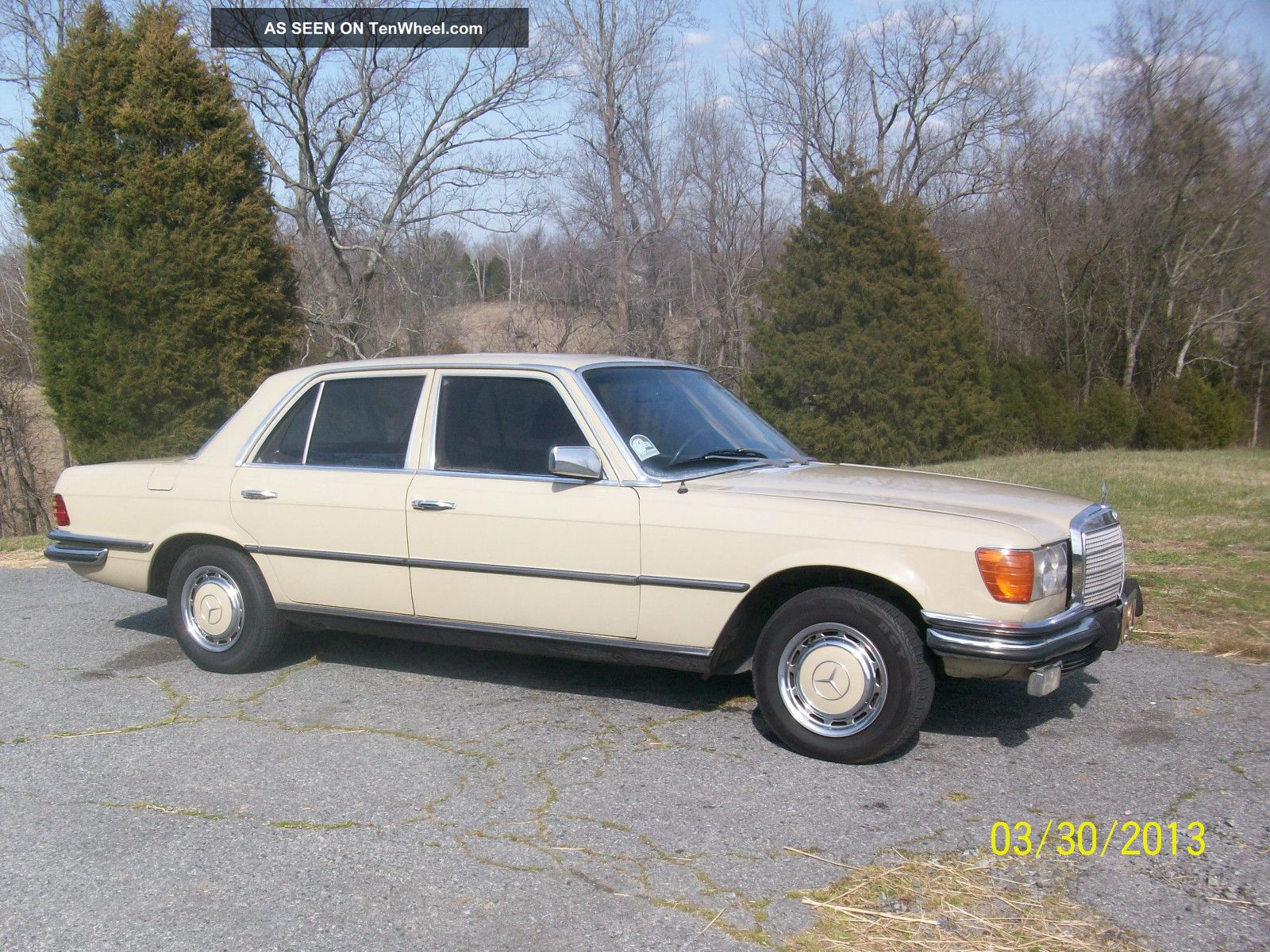 1973 mercedes benz 450se near world class car. Black Bedroom Furniture Sets. Home Design Ideas