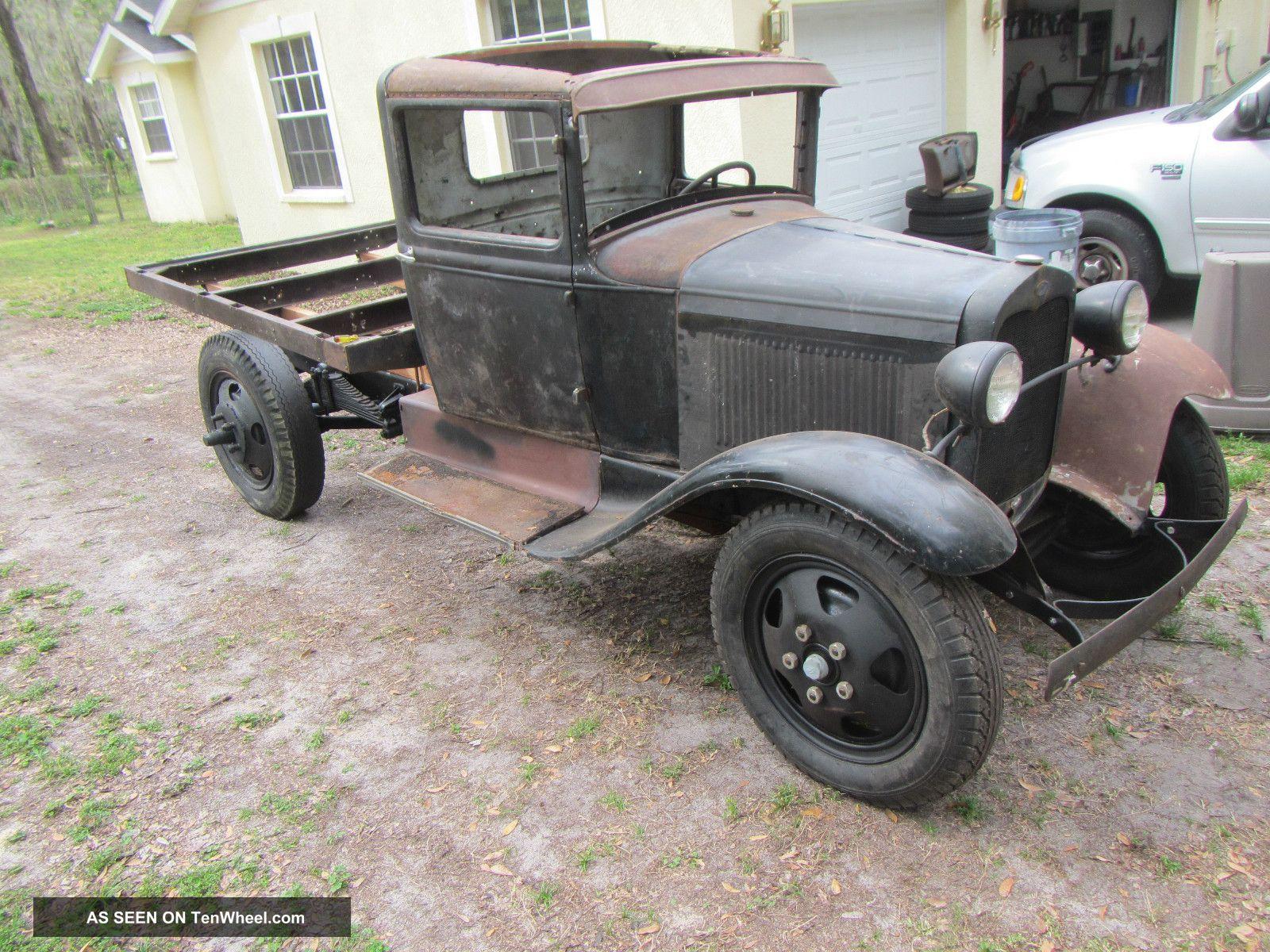 1930 Model A Aa Ford Truck Project Ratrod Rat Rod Hot Rod Hotrod