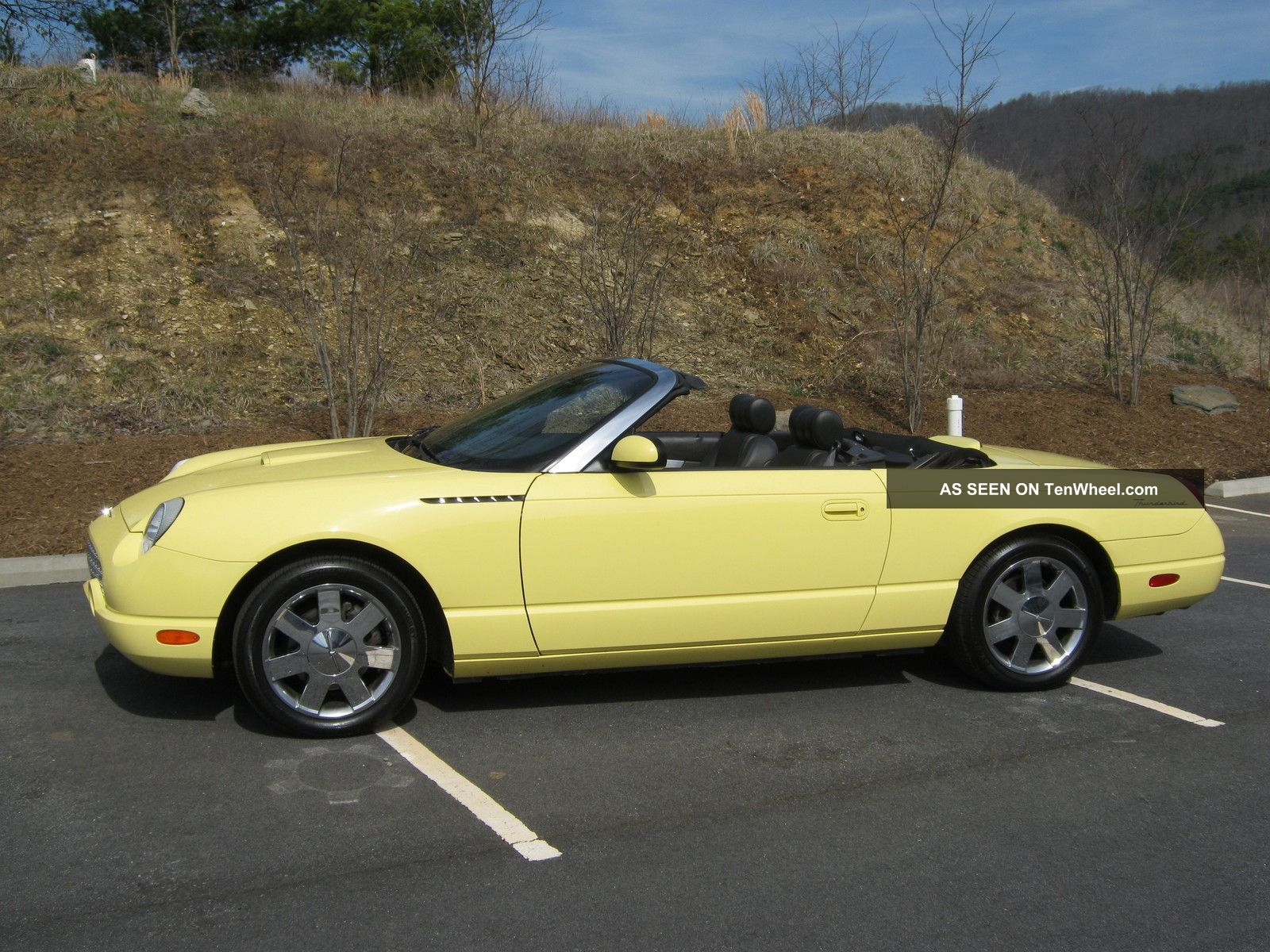 2002 ford thunderbird premium convertible 2 door 3 9l. Cars Review. Best American Auto & Cars Review