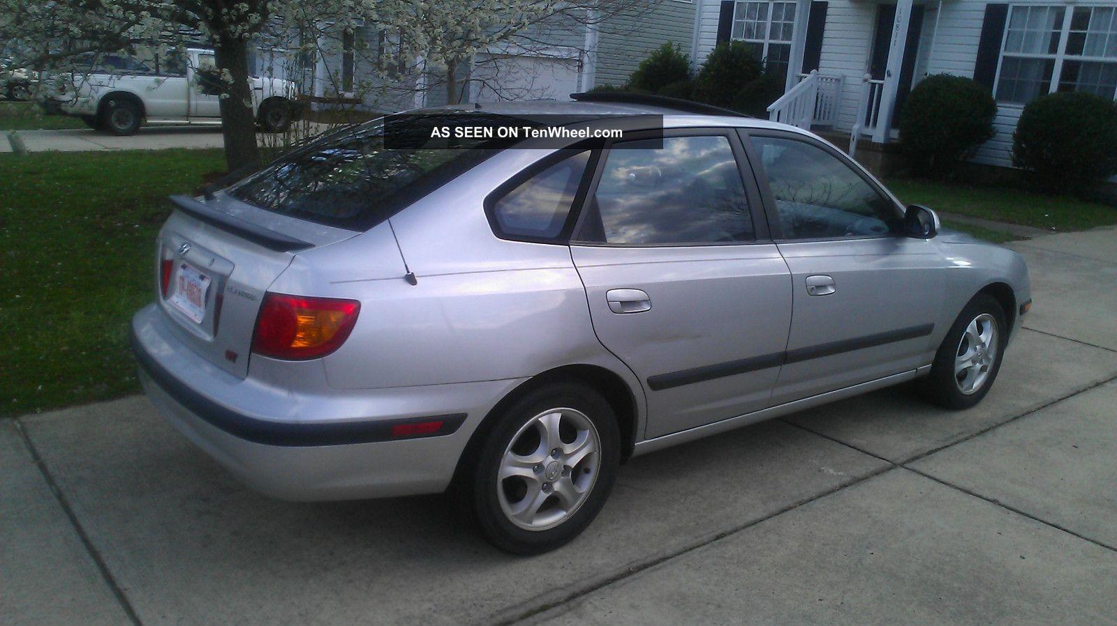 2003 Hyundai Elantra Gt Hatchback 5 Door