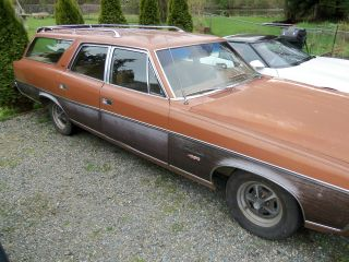 1973 Amc Ambassador Brougham Wagon Z Code 401 photo