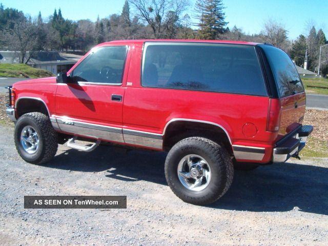 1994 Chevy Blazer 4x4 Rare 6 5 L Turbo Diesel Rust