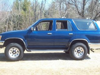 1994 Toyota 4runner Sr5 Sport Utility 4 - Door 3.  0l 4x4 4wd V6 Runs Drives Good photo
