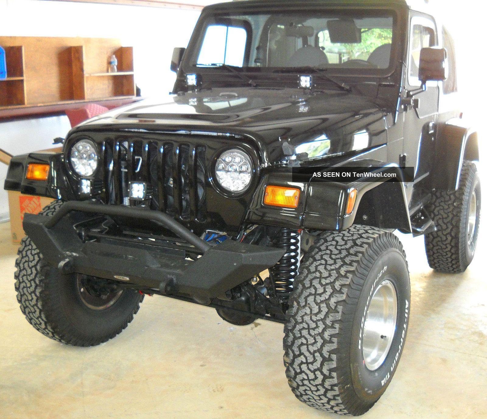 1998 Jeep Wrangler Total Off Frame Restoration With