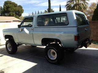 Chevrolet K5 Blazer,  Full Size,  1980 photo