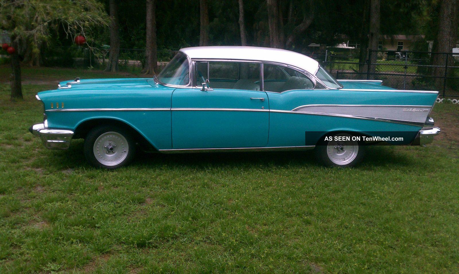 1957 chevy belair 2 door hard top chevrolet for 1957 chevy 2 door