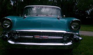1957 Chevy Belair 2 Door Hard Top Chevrolet photo