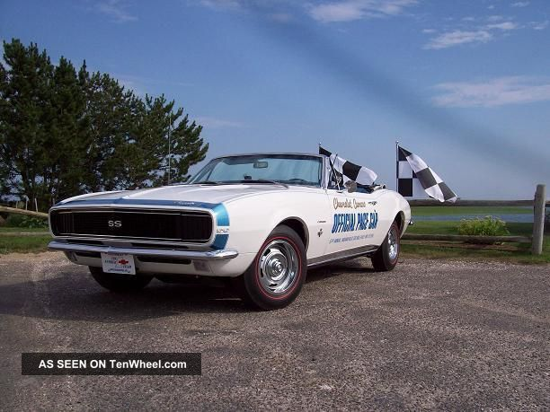 1967 Chevrolet Camaro Indy 500 Pace Car 350 4speed Convertible Camaro photo