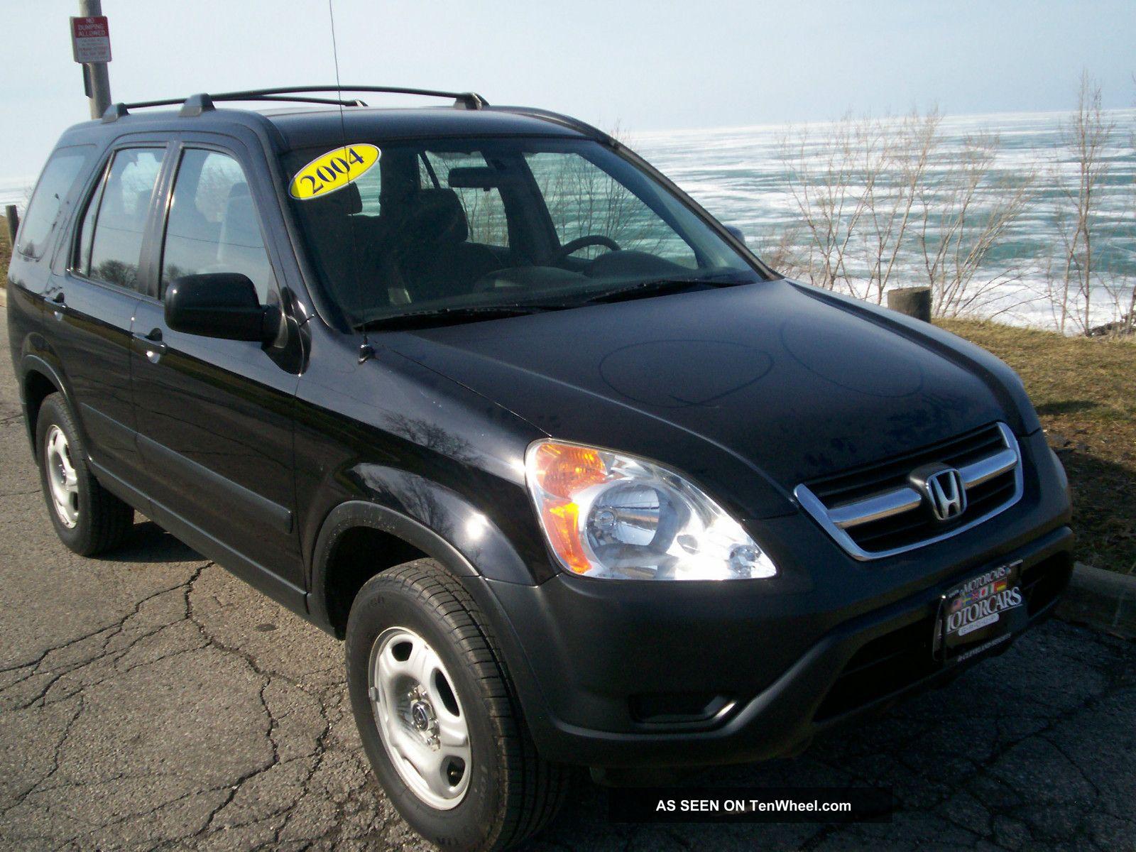 2004 Honda Cr - V Lx Sport Utility 4 - Door 2. 4l