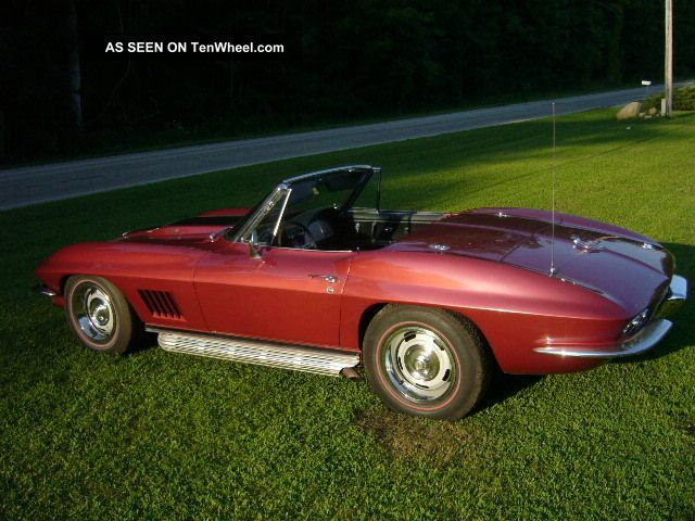 1967 Chevrolet Corvette Big Block Convertible With Factory Air Conditioning Corvette photo