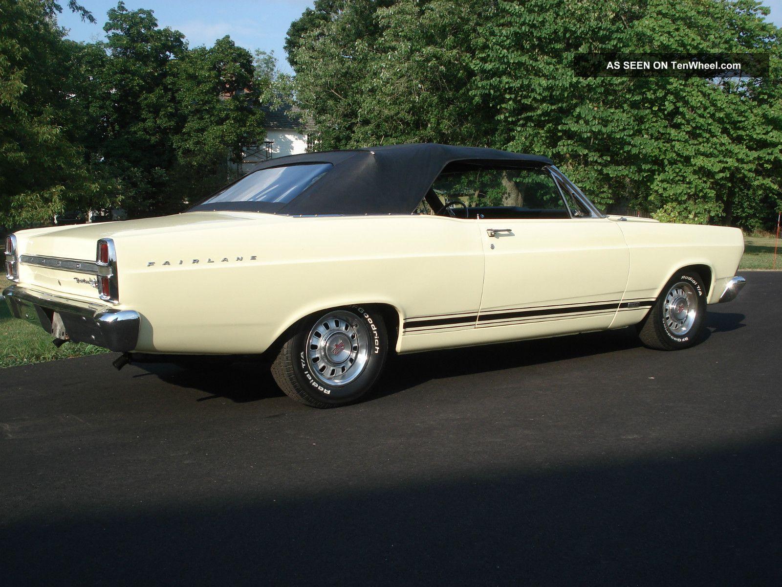 1967 ford fairlane gta 390 convertible