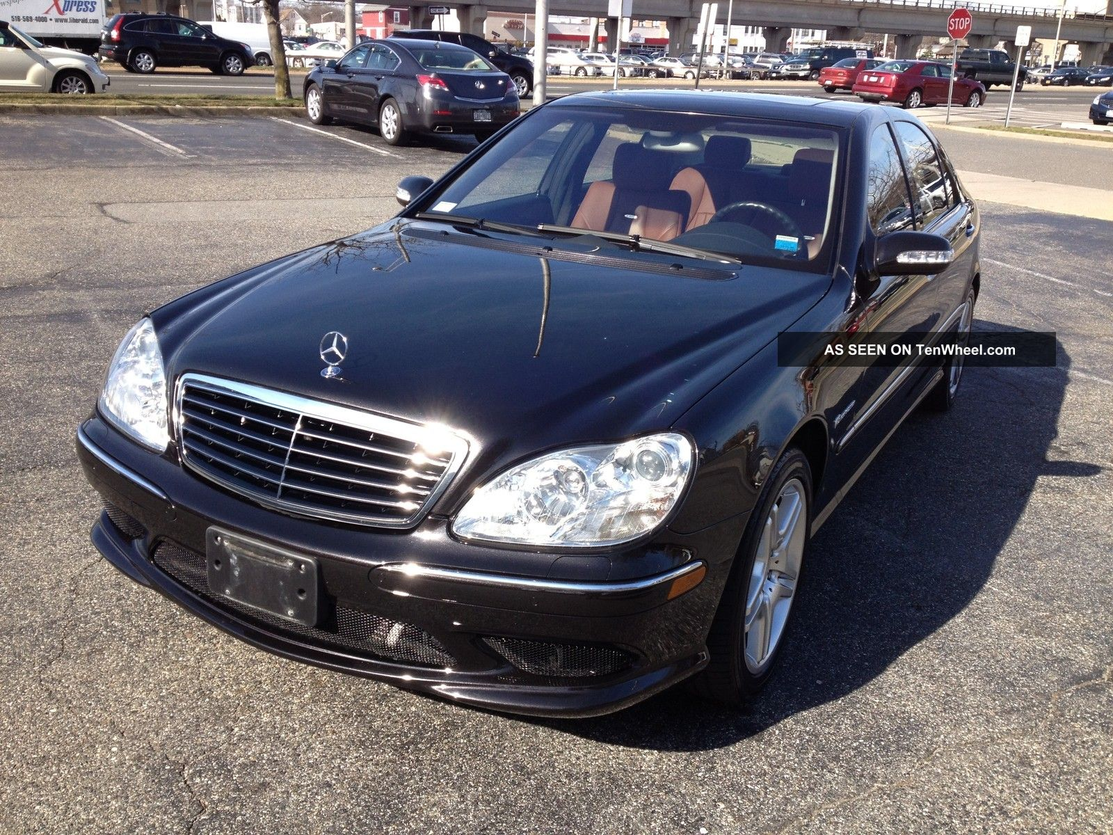 2003 mercedes benz s55 amg kompressor sedan 4 door 5 5l for Mercedes benz s55