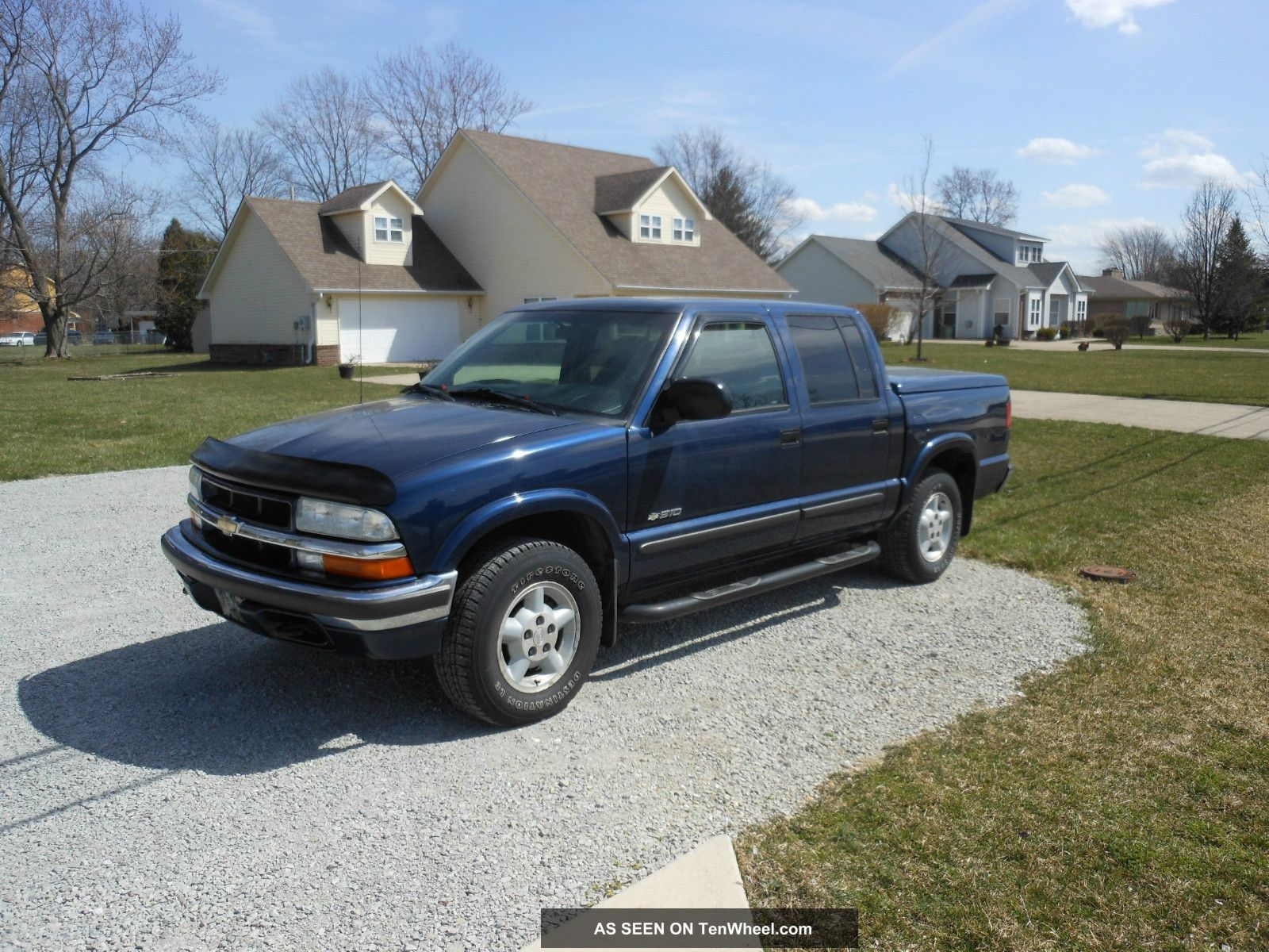 2002 chevrolet s10 zr5 crew cab pickup 4 door 4 3l v6 1 owner. Black Bedroom Furniture Sets. Home Design Ideas
