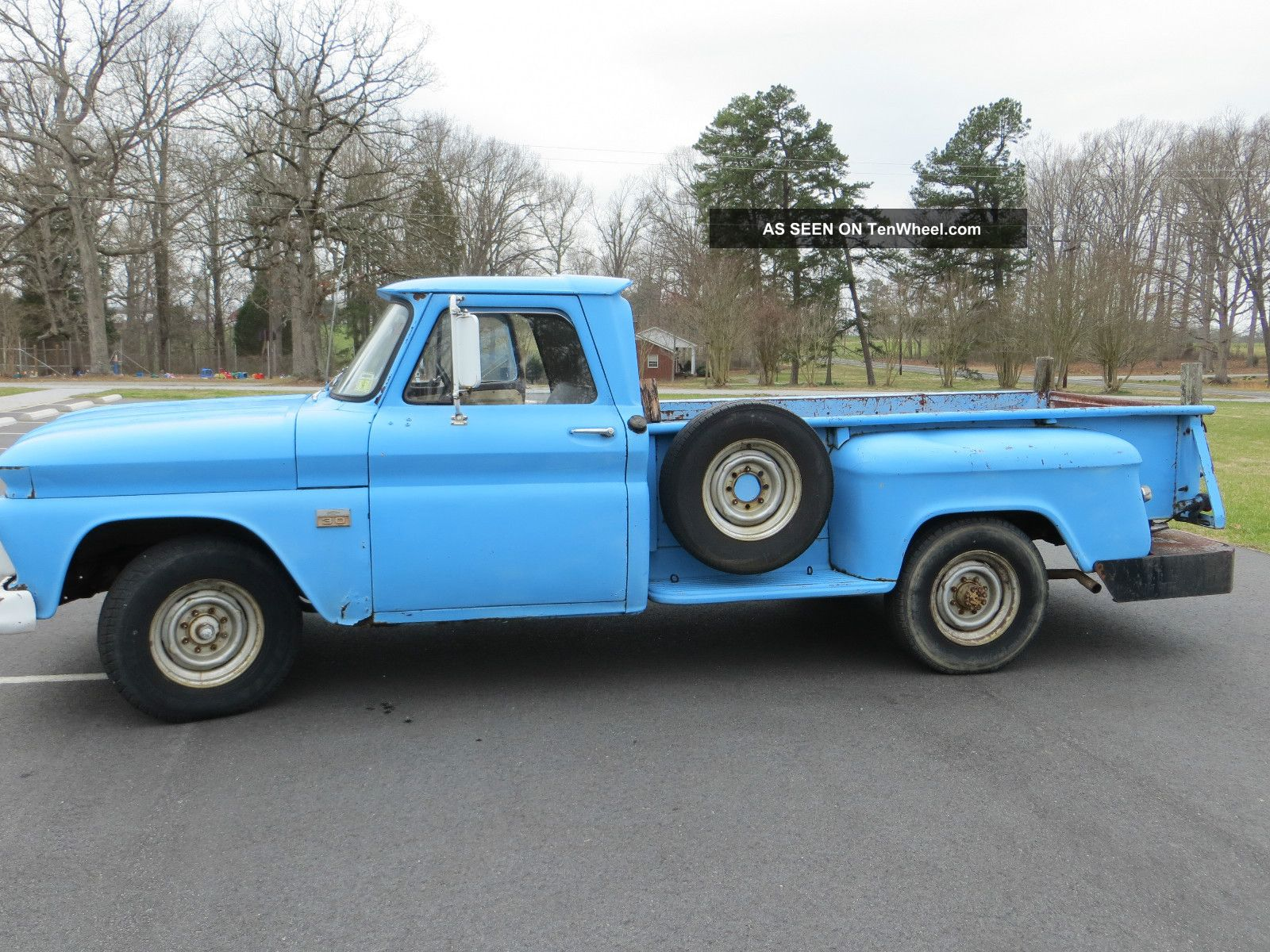 1966 Dodge Stepside Pickup Autos Post