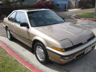 1989 Acura Integra Ls 2 Door Hatchback - - - photo