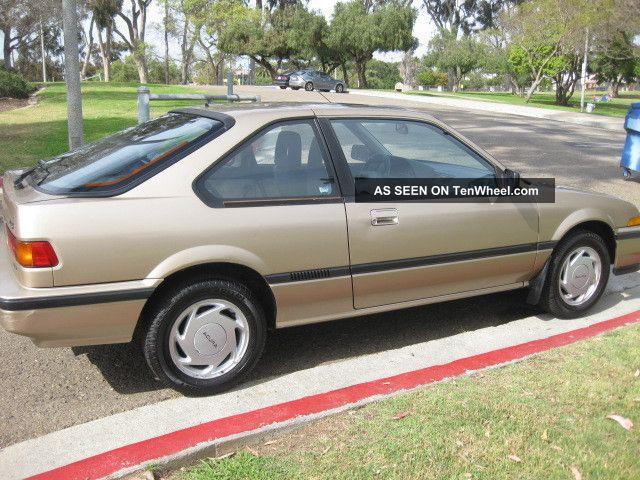 Acura Integra Ls Door Hatchback Lgw