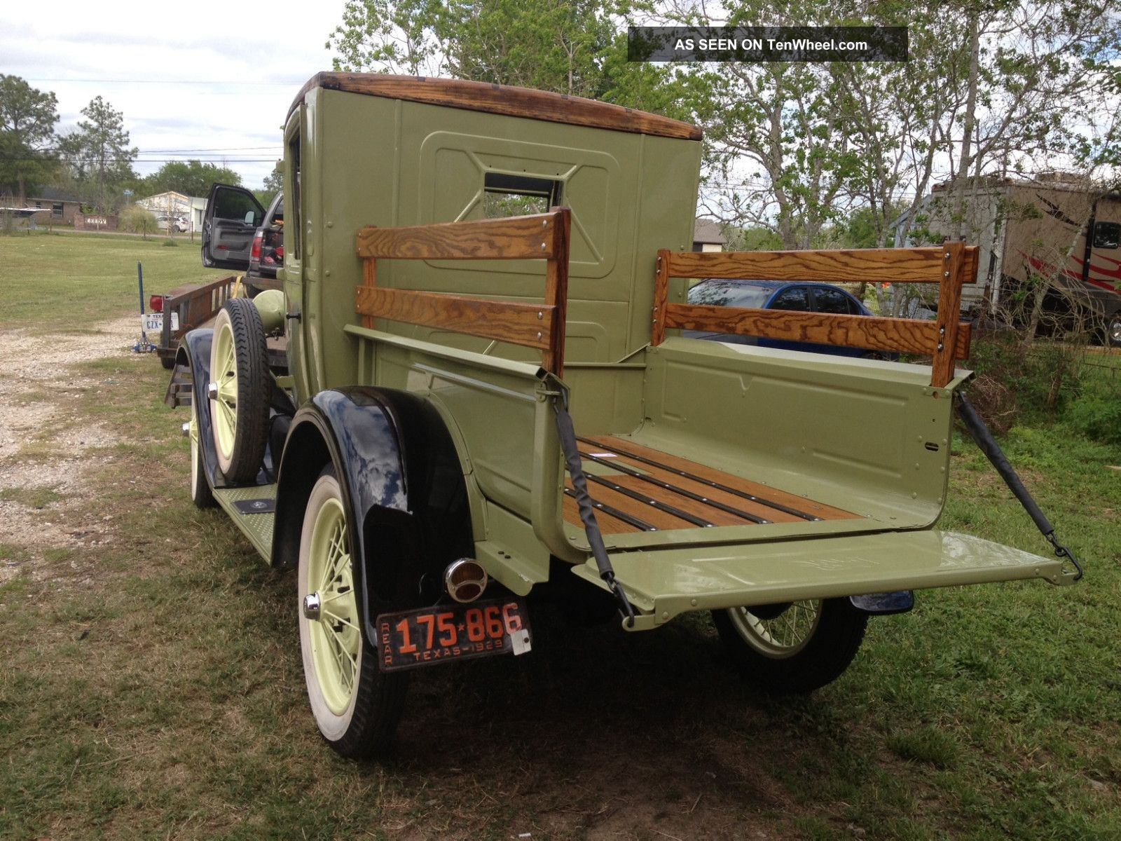 1929 Ford Model A Truck Rebuild All Trades Cosidered