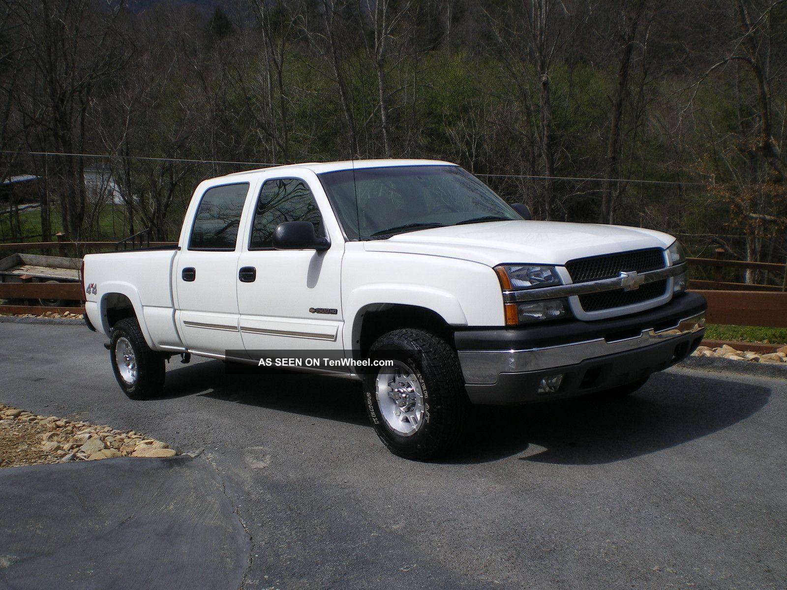 2003 chevrolet silverado 1500 hd ls crew cab pickup 4 door 6 0l 4x4