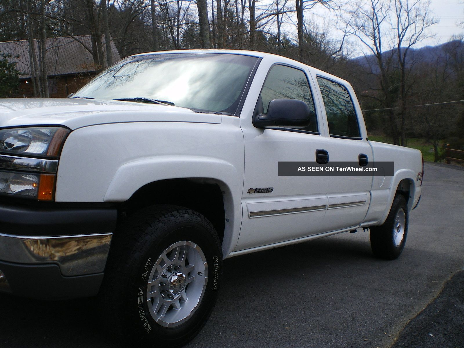 2003 chevrolet silverado 1500 hd ls crew cab pickup 4 door 6 0l 4x4. Black Bedroom Furniture Sets. Home Design Ideas