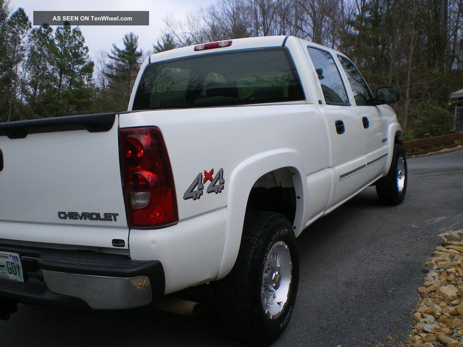 2003 chevrolet silverado 1500 hd ls crew cab pickup 4 door 6 0l 4x4. Black Bedroom Furniture Sets. Home Design Ideas