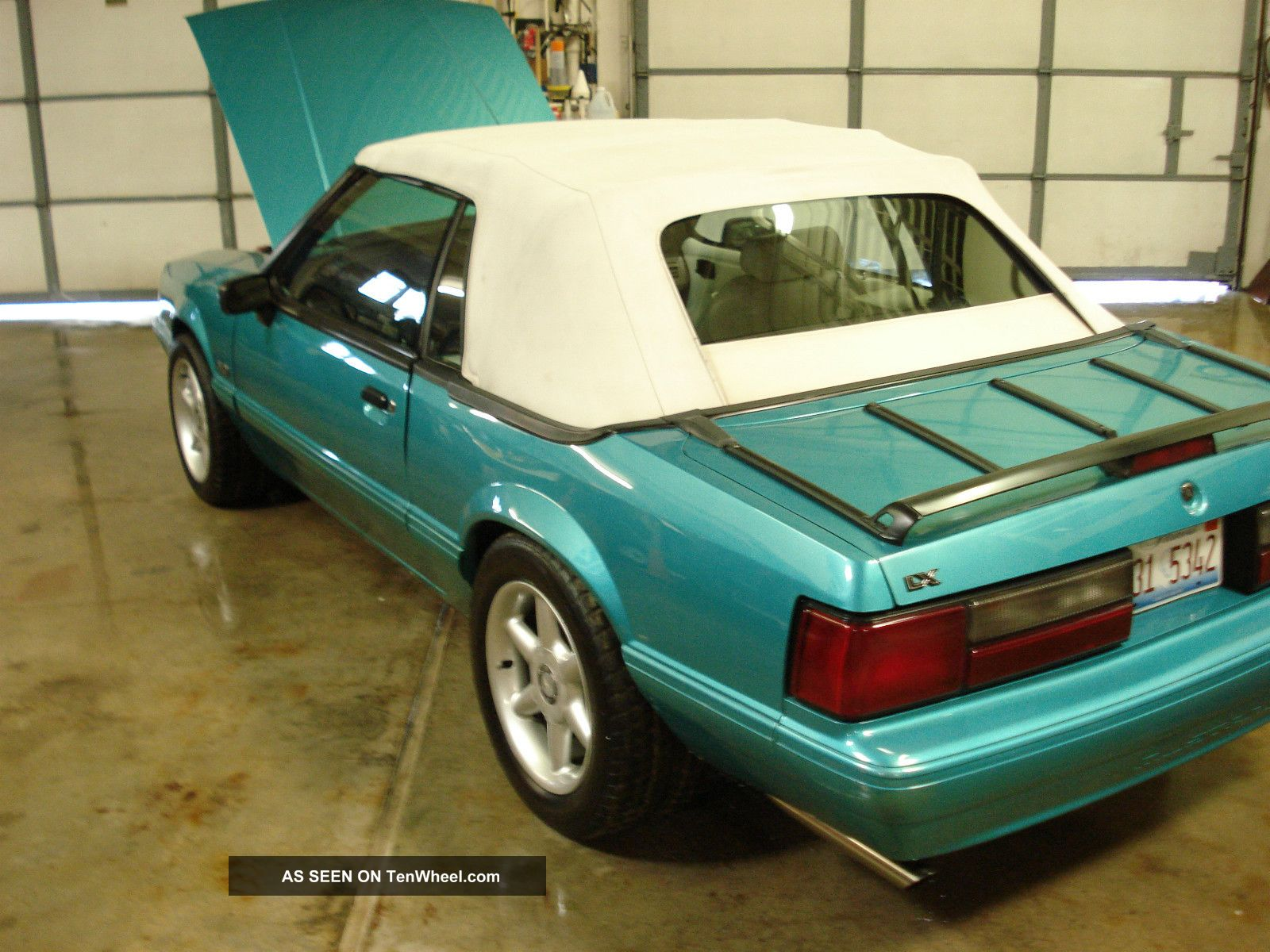 1992 Ford Mustang Lx Convertible 2 - Door 5.  0l Mustang photo