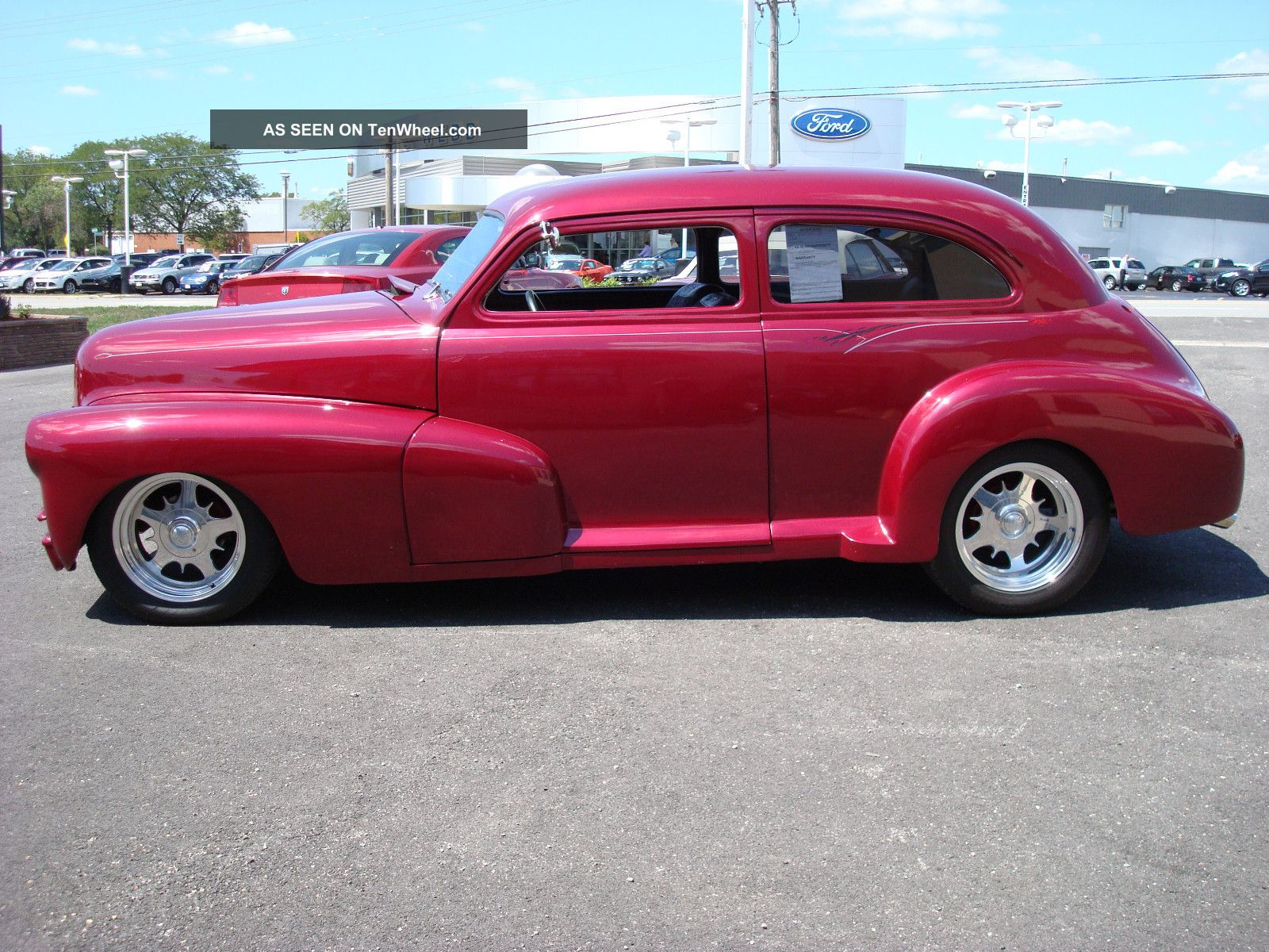 1948 chevrolet fleetline custom 2 door sedan 396 automatic
